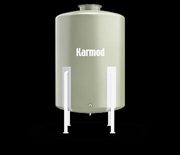 1500 L FRP Storage Tanks