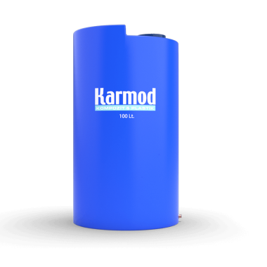 100 liters vertical plastic tank