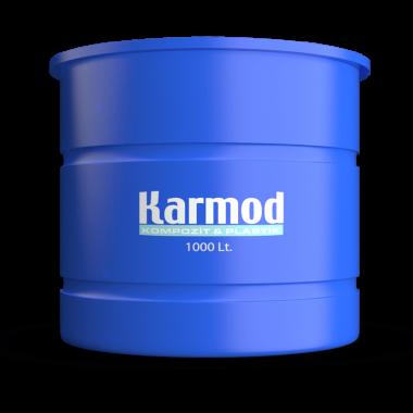 1000 liters brine tank (blue)