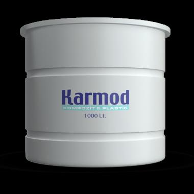1000 liters brine tank (white)