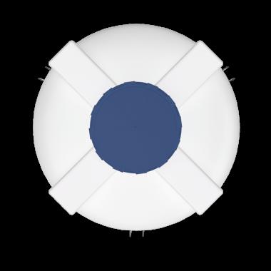 1000 liters cone bottom tank models (white)