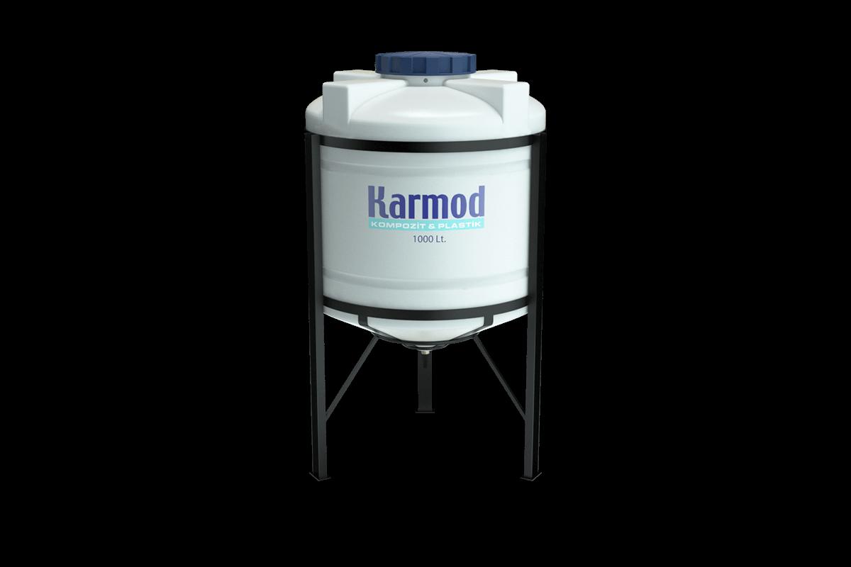1000 liters cone bottom tank price (white)