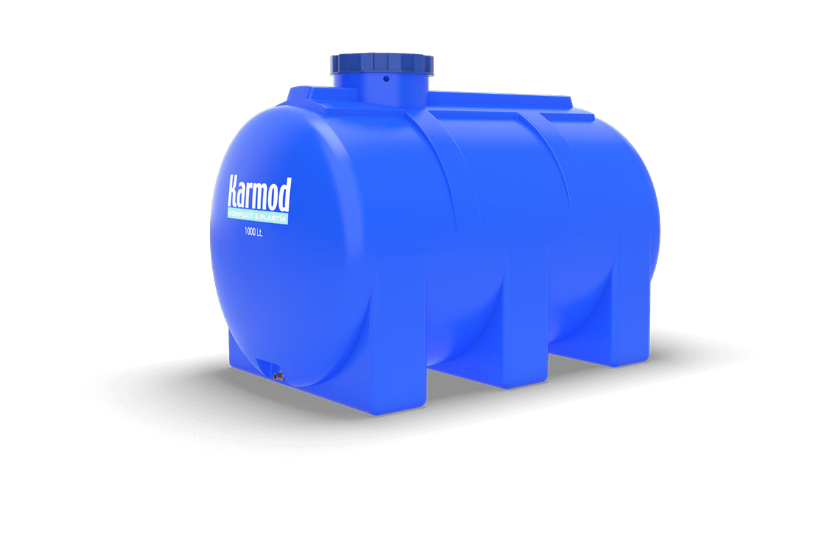 1000 liters horizontal tank