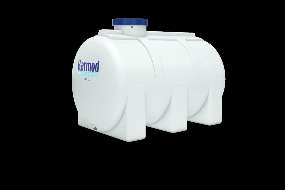 1000 liters horizontal water tank