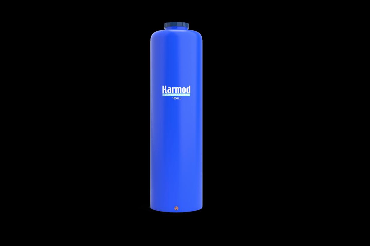 1000 liters pipe type vertical plastic tank