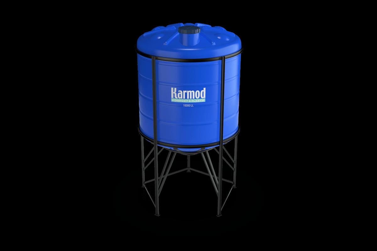 10000 liters cone bottom tank price (blue)