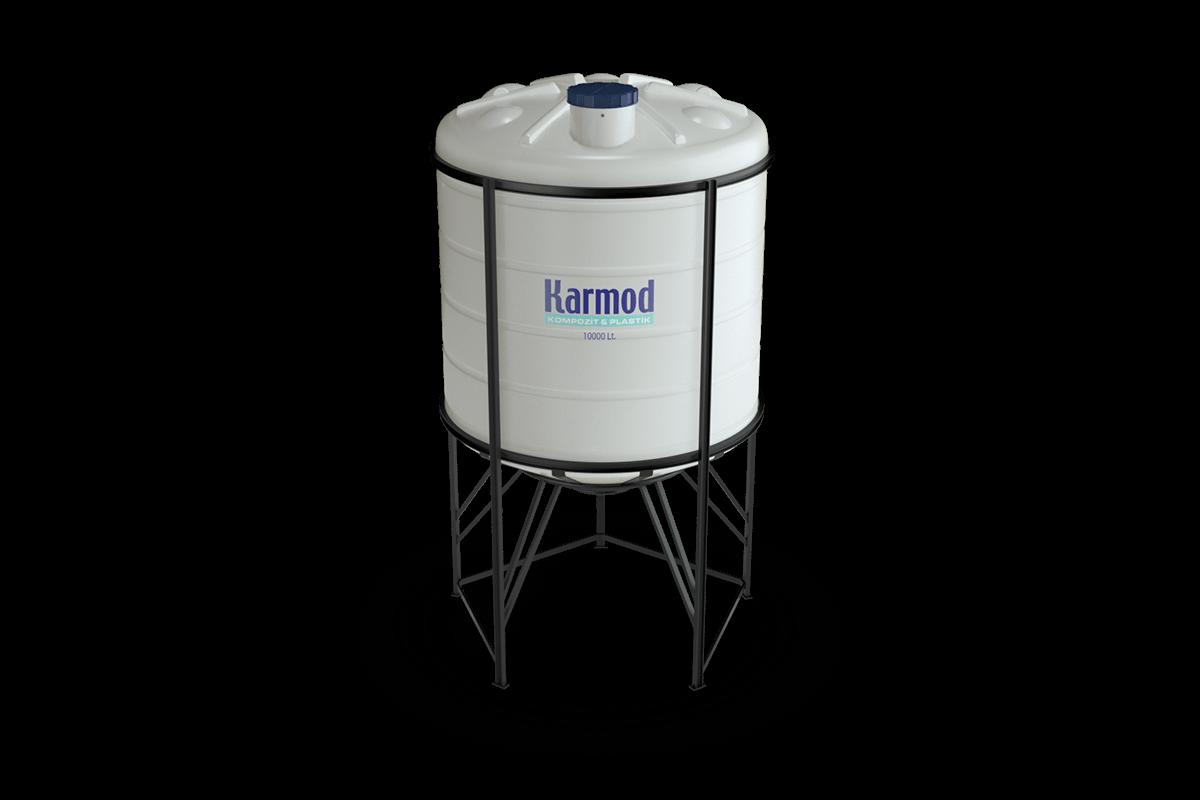 10000 liters cone bottom tank price (white)