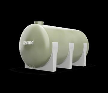 10.000 L Horizontal FRP Tank