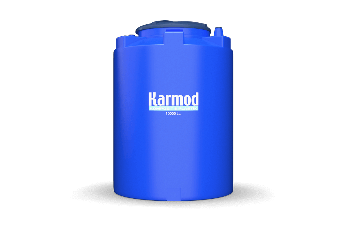 10000 liters pickle tank big cover (blue)
