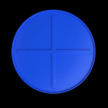 1500 liters brine tank models (blue)