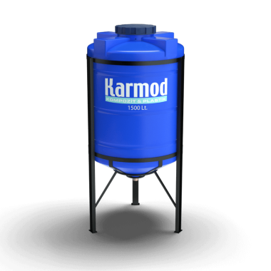 1500 liters cone bottom tank price (blue)