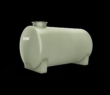 1.500 L Horizontal FRP Tank