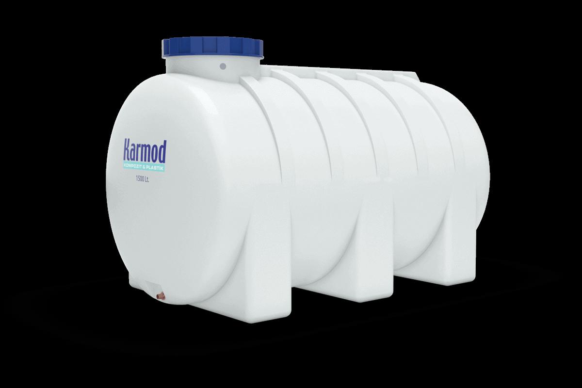 1500 liters horizontal water tank