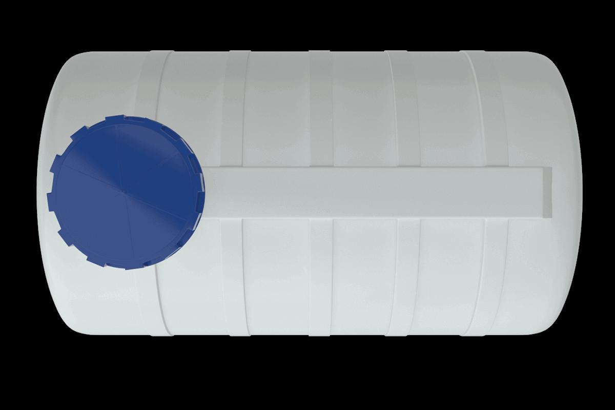 1500 liters plastic water tank