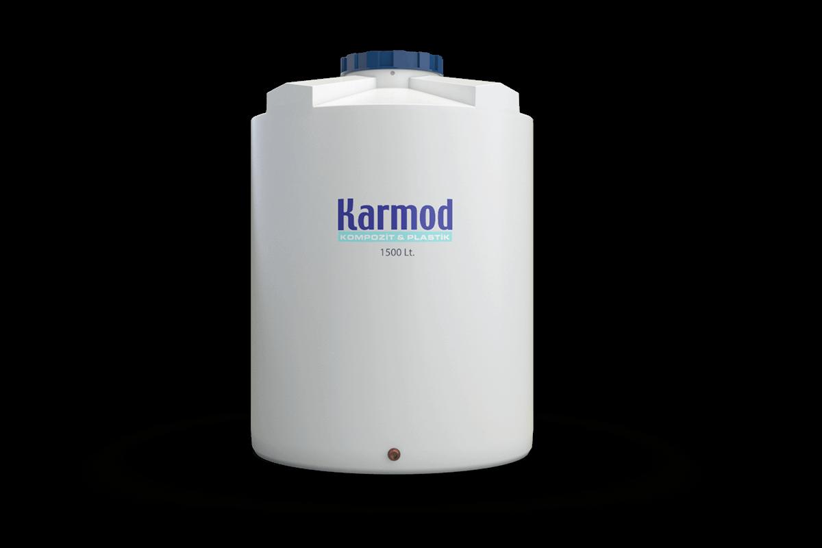 1500 liters water tank