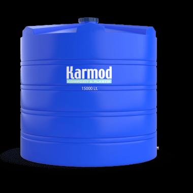 15000 liters vertical plastic tank
