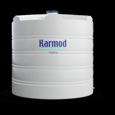 15000 liters water tank