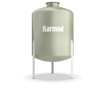 2500 L FRP Storage Tanks