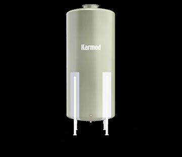 2000 L FRP Storage Tanks