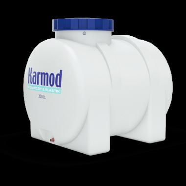 200 liters horizontal water tank
