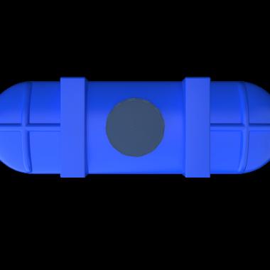 2000 liters blue plastic above ground tanks price