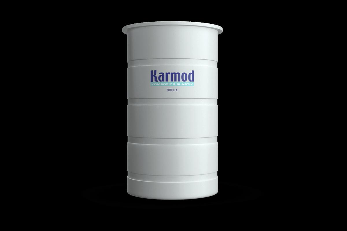 2000 liters brine tank (white)