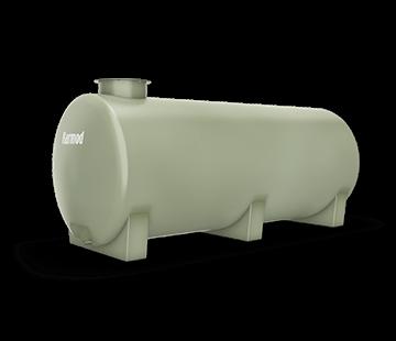 2.000 L Horizontal FRP Tank