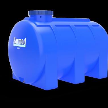 2000 liters horizontal tank