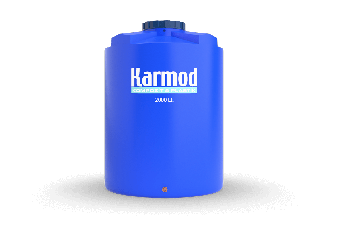 2000 liters vertical plastic tank