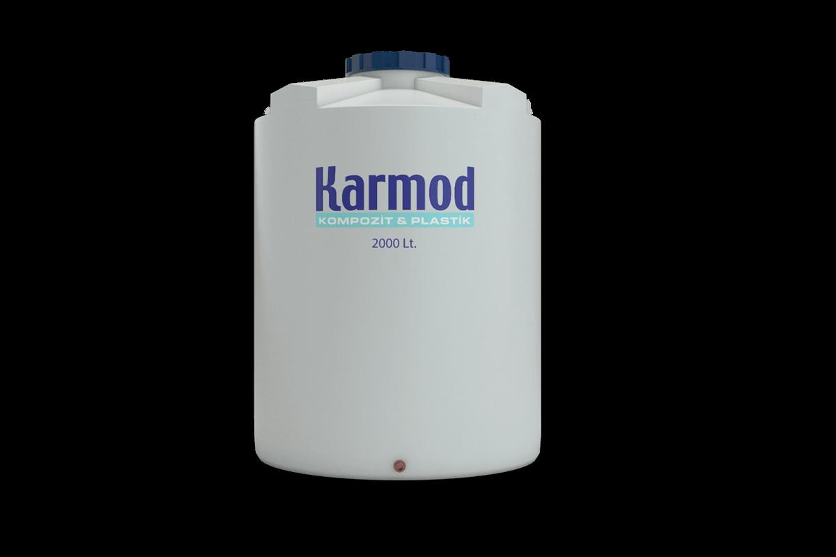 2000 liters water tank