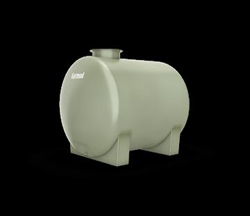 2.500 L Horizontal FRP Tank