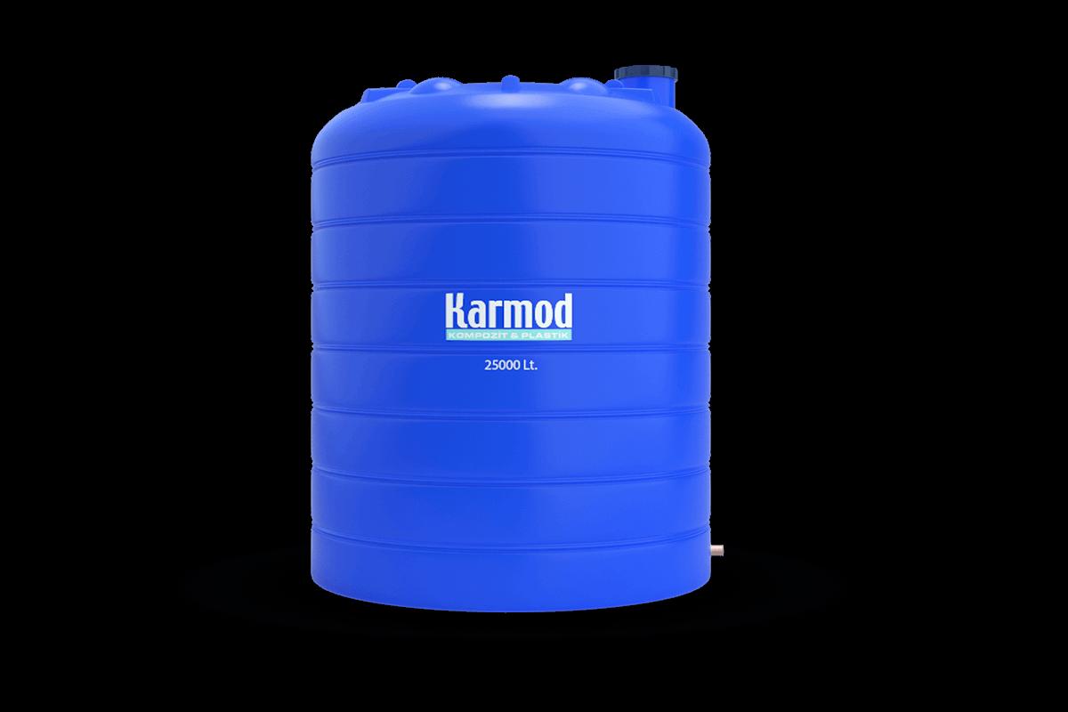 25000 liters vertical plastic tank