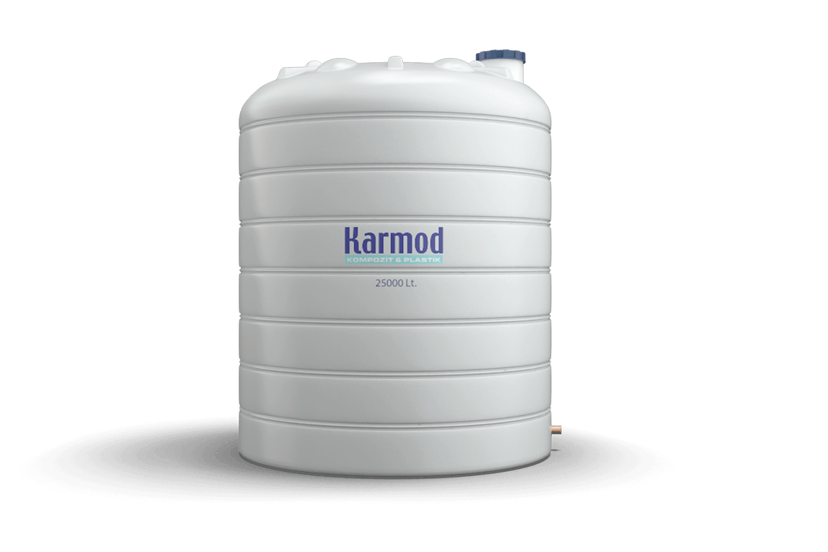 25000 liters water tank
