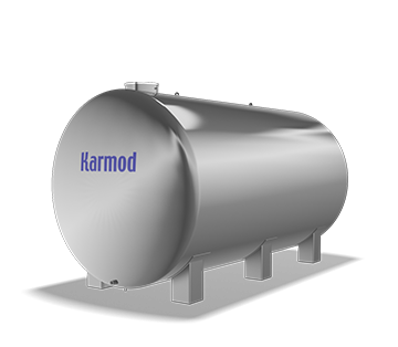 25.000 L Stainless Water Tank