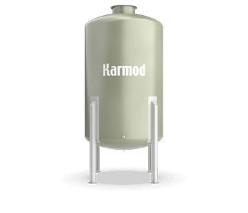 3500 L FRP Storage Tanks