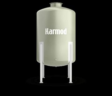 3000 L FRP Storage Tanks