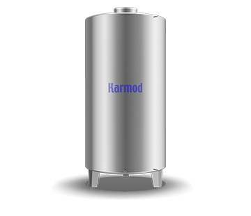 3000 L Stainless Storage Tank