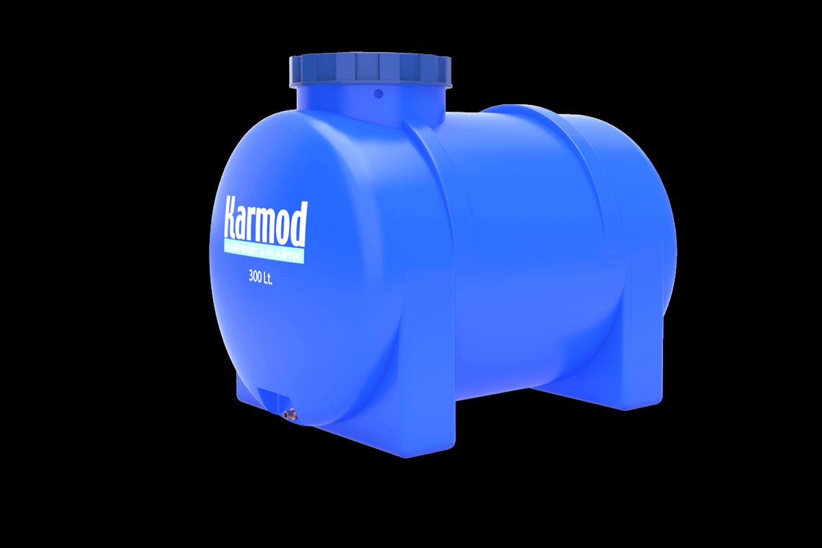 300 liters horizontal tank