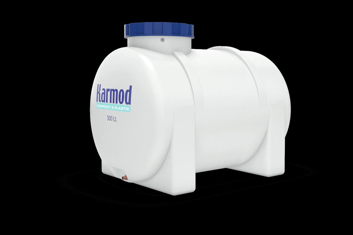 300 liters horizontal water tank