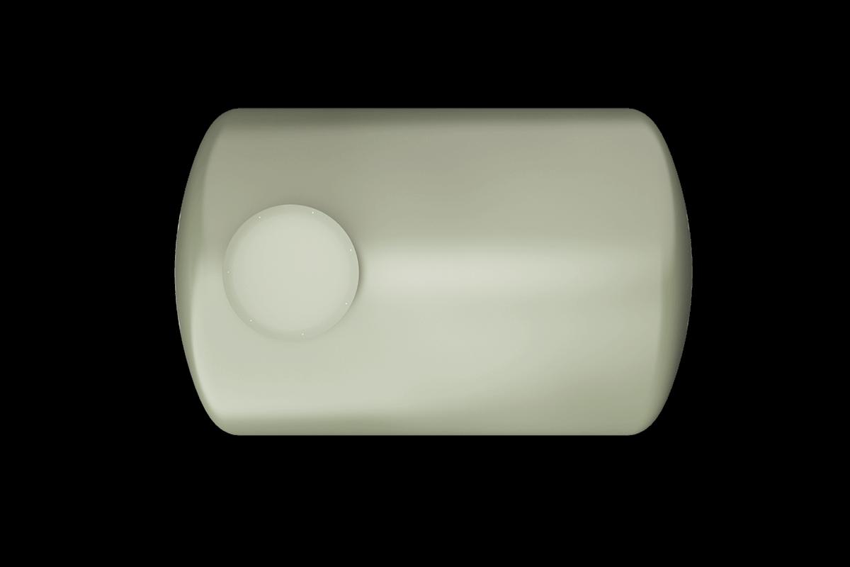 3000 liters horizontal frp tank