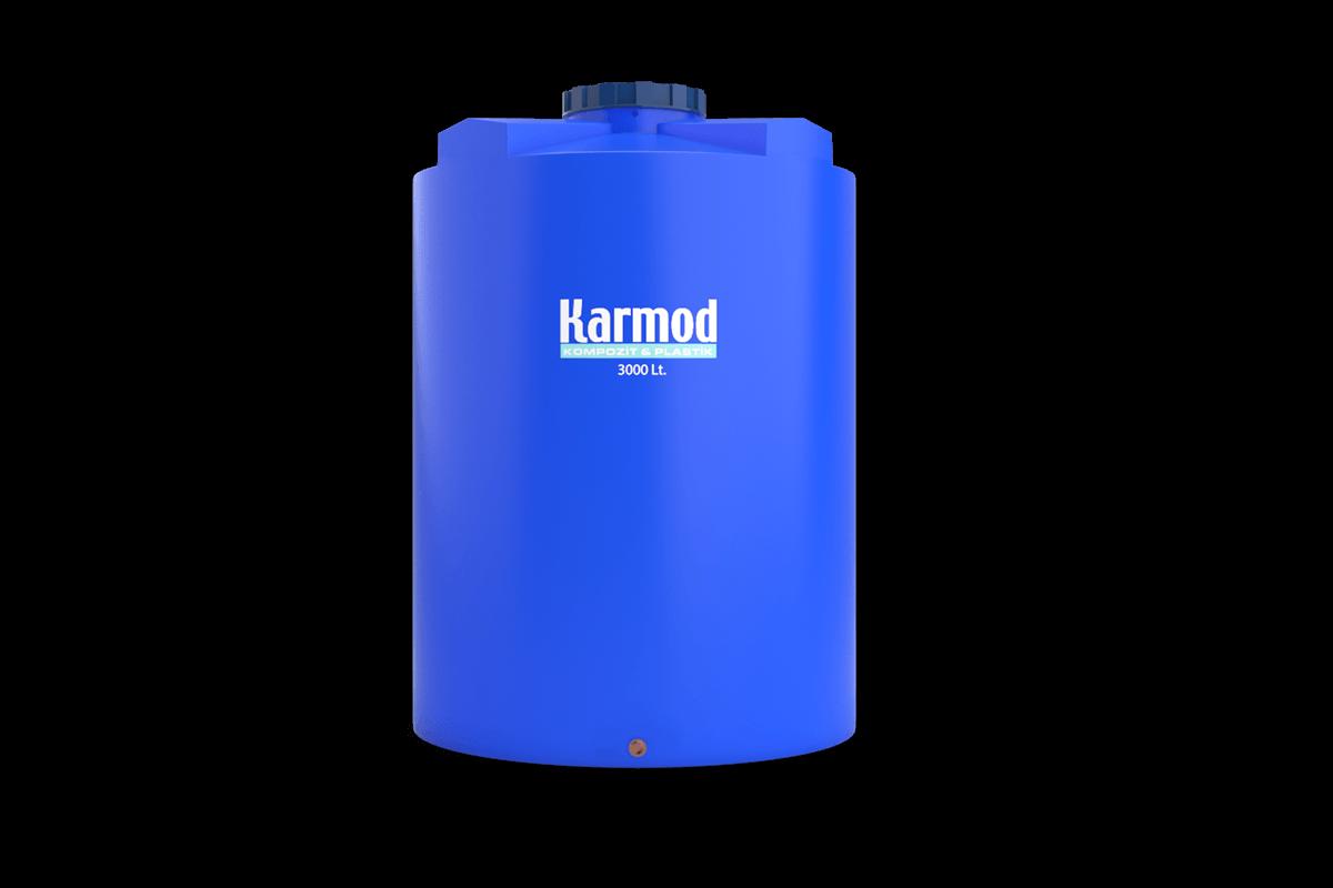 3000 liters vertical plastic tank