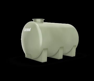 3.500 L Horizontal FRP Tank