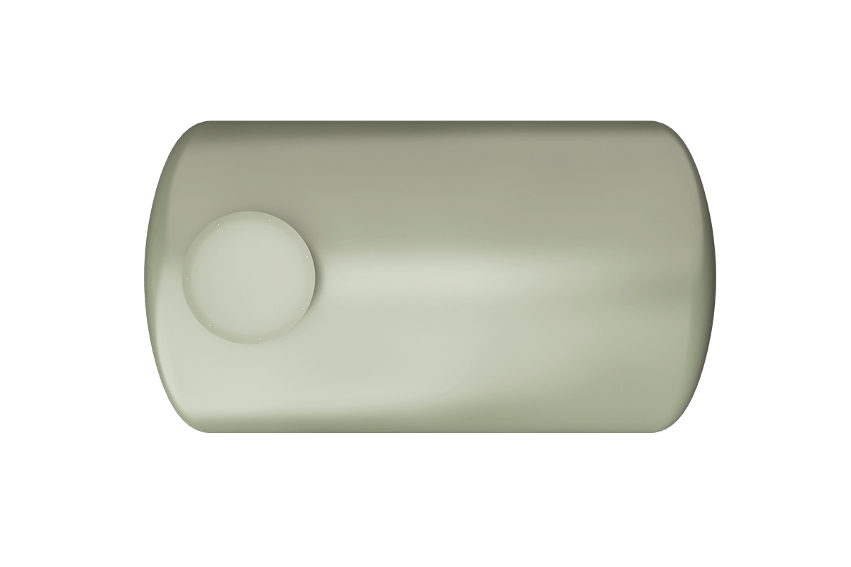 3500 liters horizontal frp tank