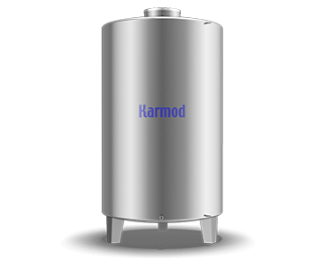 4000 L Stainless Storage Tank