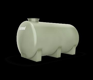 4.000 L Horizontal FRP Tank