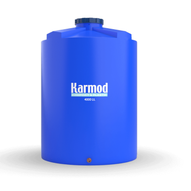 4000 liters vertical plastic tank