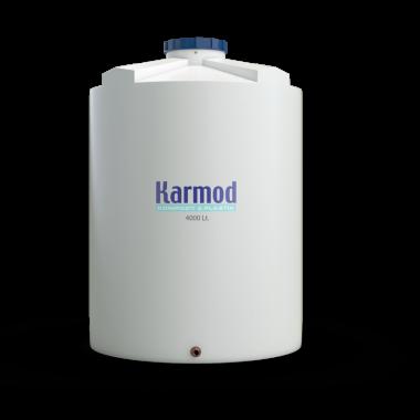 4000 liters water tank