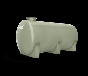 4.500 L Horizontal FRP Tank