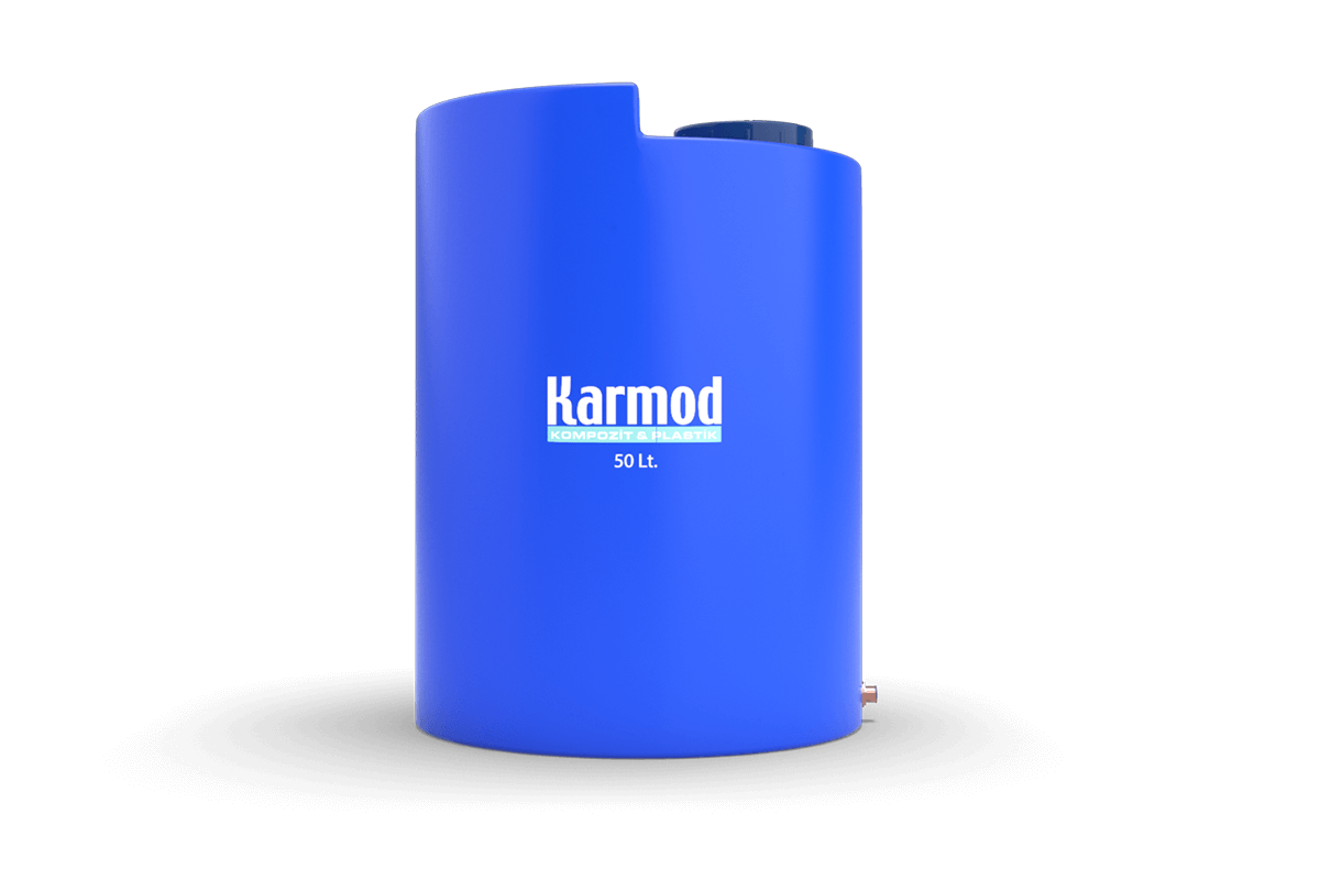 50 liters vertical plastic tank