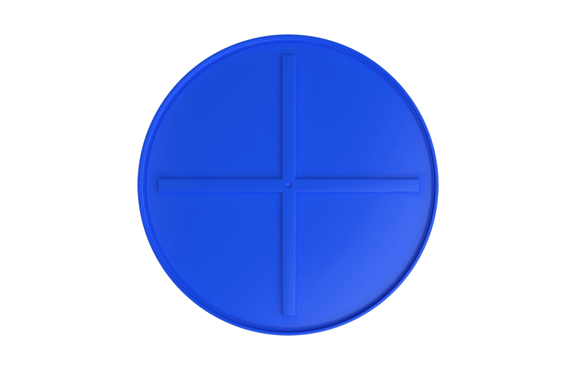 500 liters brine tank models (blue)